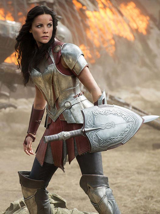 "Jaimie Alexander as ""Lady Sif"" in Marvel's Thor"