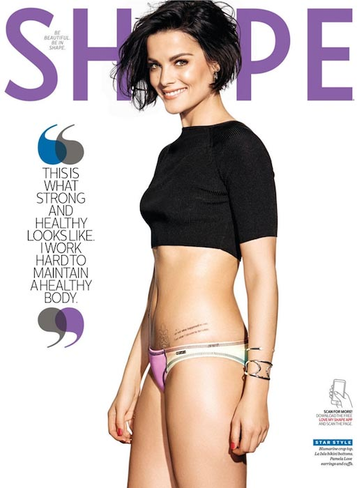 Jaimie Alexander photoshoot for Shape magazine's March 2016 Edition