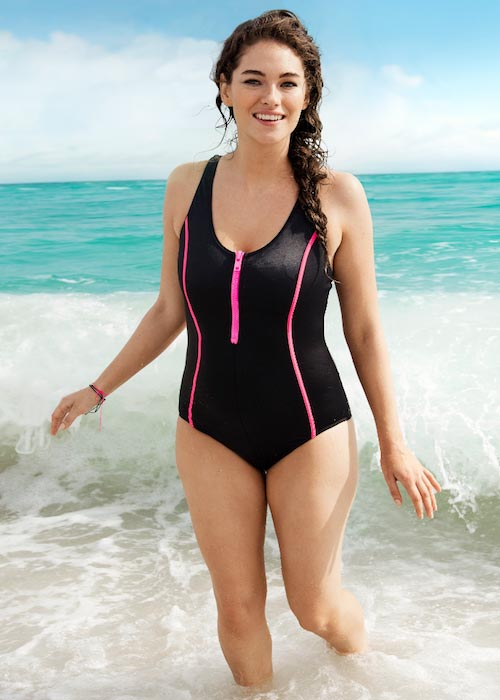 Jennie Runk in H&M Swimwear Collection
