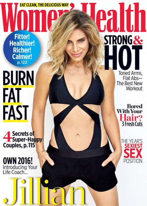 Jillian Michaels on Women's Health 2016 Issue