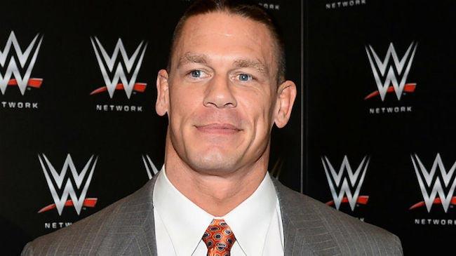 John Cena, WWE wrestler