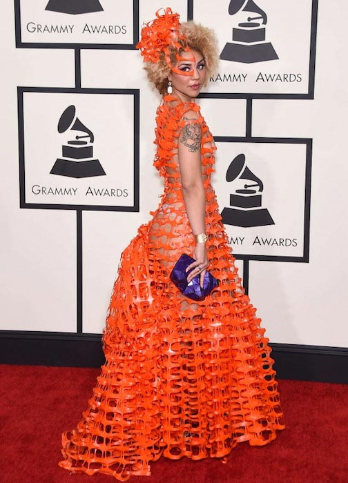 Joy Villa at 2015 Grammy Awards
