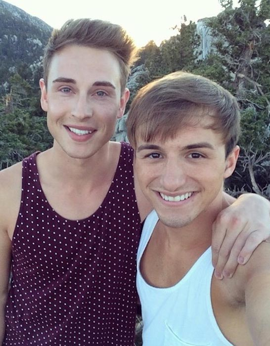 Lucas Cruikshank and Matthew Fawcus