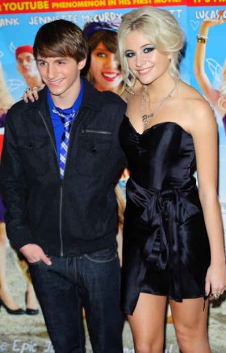 Lucas Cruikshank and Pixie Lott