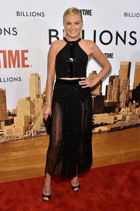 Malin Akerman at Billions series premiere in New York on January 7, 2016