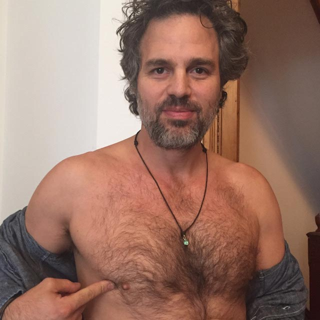 Mark Ruffalo shirtless body