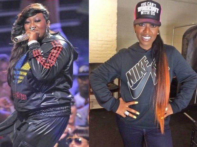 Missy Elliott 30 pound weight loss was due to Shaun T. workout programs