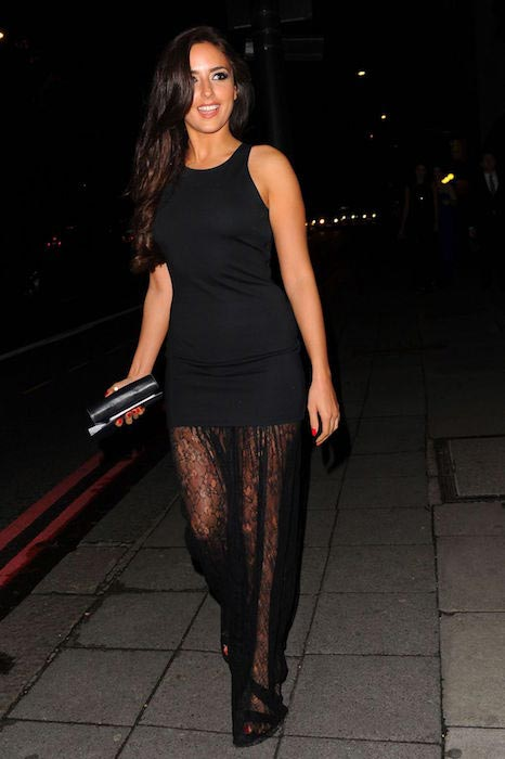 Nadia Forde at the Breast Cancer Care Fashion Show in London in October 2015