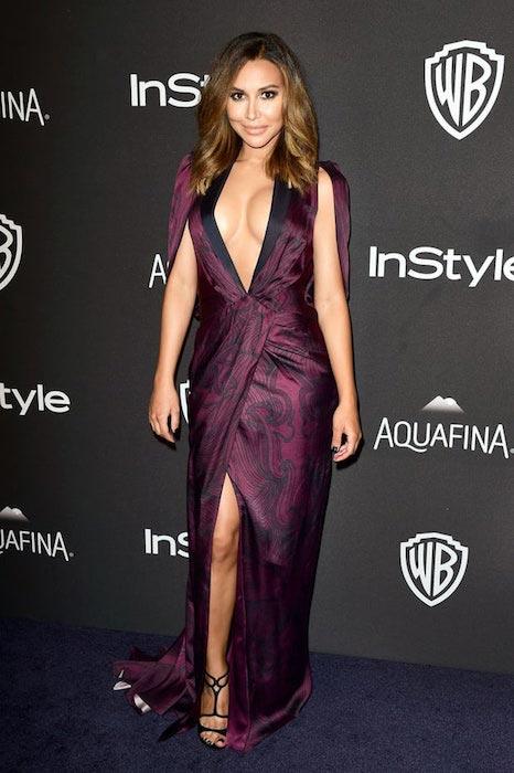 Naya Rivera at Golden Globes 2016