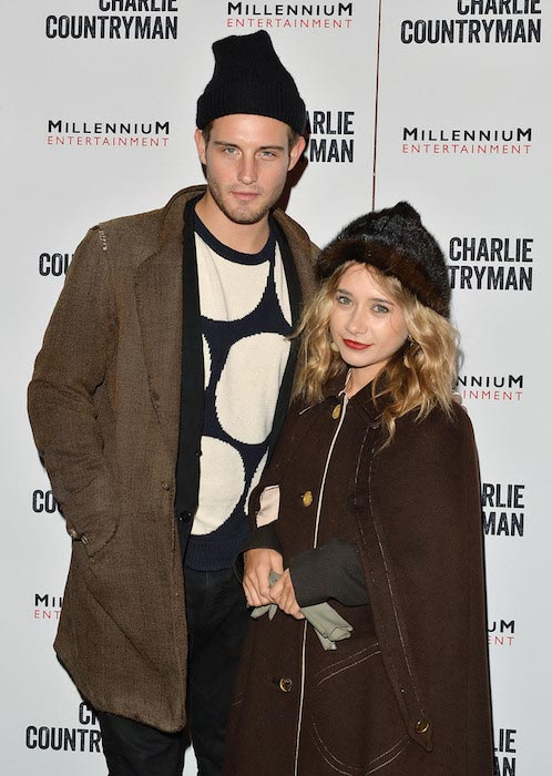 "Nico Tortorella and Olesya Rulin at the ""Charlie Countryman"" screening in November 2013"