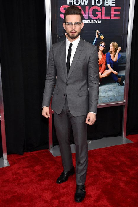 "Nico Tortorella at the New York premiere of ""How To Be Single"" on February 3, 2016"