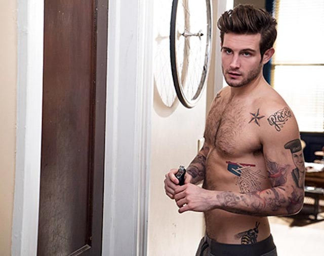 Nico Tortorella shirtless body