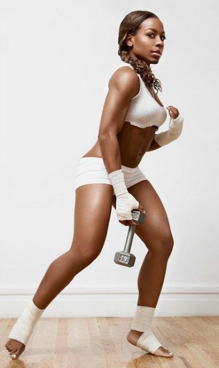 Nicole Chaplin workout