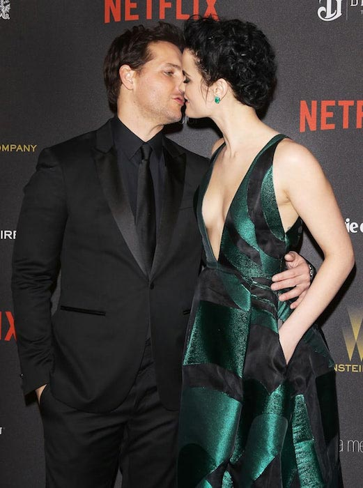 Peter Facinelli and Jaimie Alexander at the 2016 Weinstein Company and Netflix Golden Globes afterparty