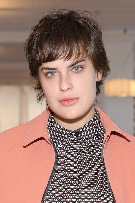 Tallulah Willis at the Eckhaus Latta fashion show during Spring 2016 New York Fashion Week
