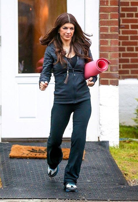 Teresa Giudice heading for yoga workout