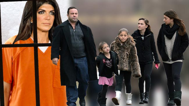 Teresa Giudice prison look and separate from family