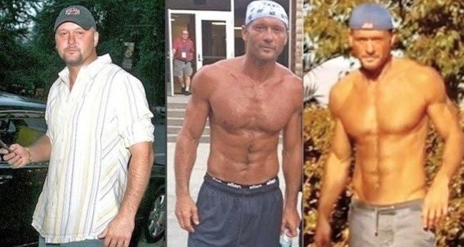 Tim Mcgraw body transformation