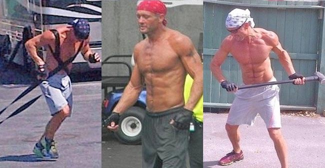 Tim Mcgraw workout