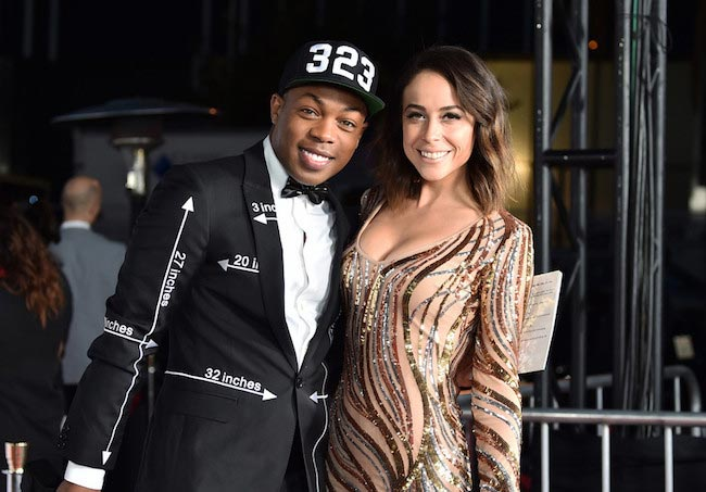 Todrick Hall and TV personality Shira Lazar at the TrevorLIVE LA 2015