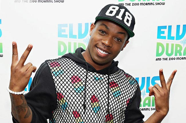 Todrick Hall at The Elvis Duran Z100 Morning Show at Z100 Studio in October 2015