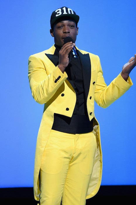 Todrick Hall at the MTV 2015 Upfront presentation