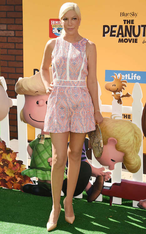 "Tori Spelling at ""The Peanuts Movie"" LA Premiere in November 2015"