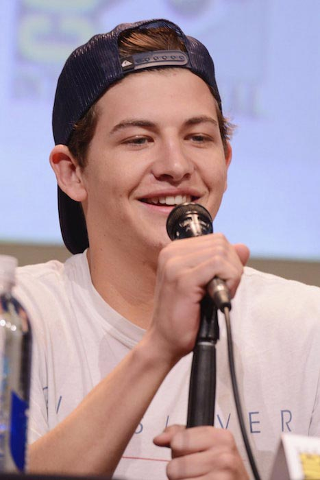 Tye Sheridan face closeup