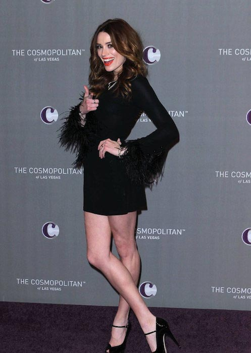 Arielle Vandenberg at The Cosmopolitan of Las Vegas
