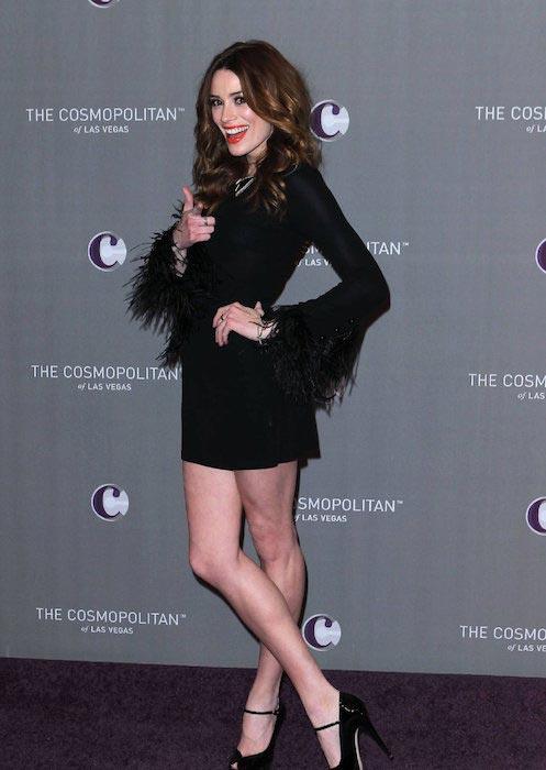 Arielle Vandenberg at The Cosmopolitan of Las Vegas