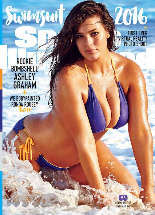 Ashley Graham in Sports Illustrated Swimsuit Issue.