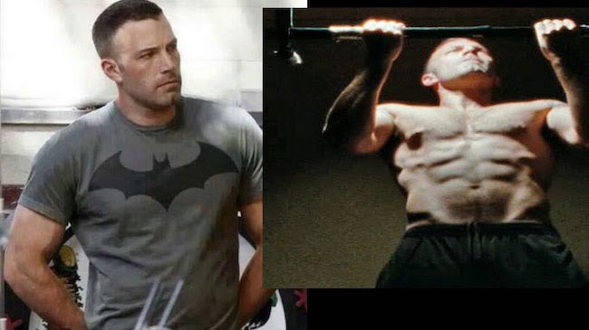 Ben Affleck workout