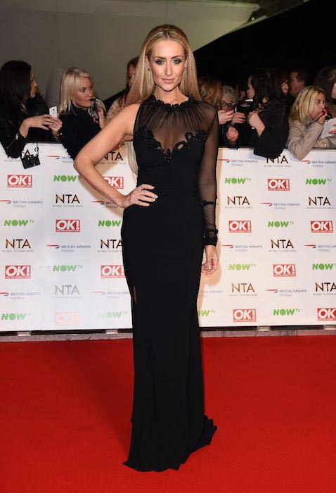 Catherine Tyldesley at 2016 National Television Awards in London in 2016