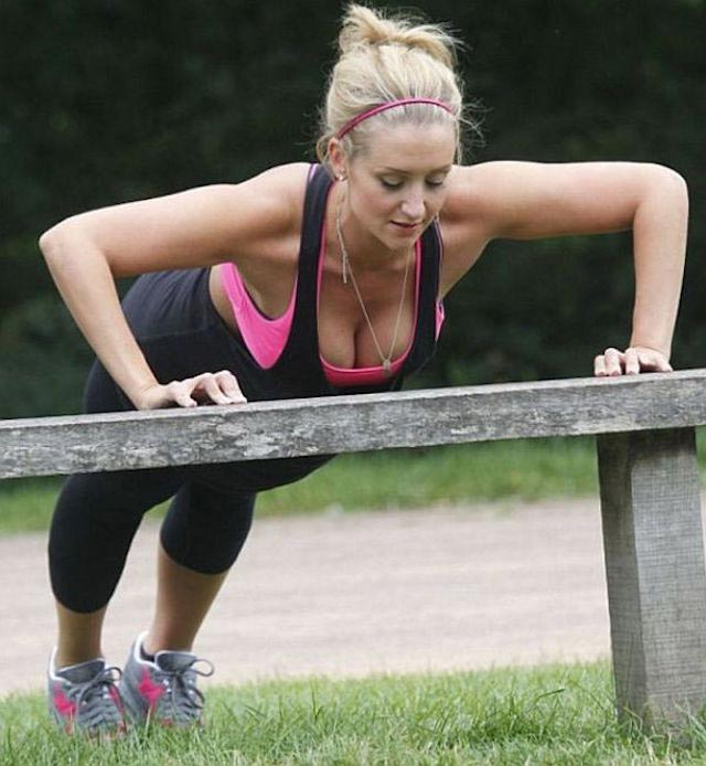 Catherine Tyldesley workout