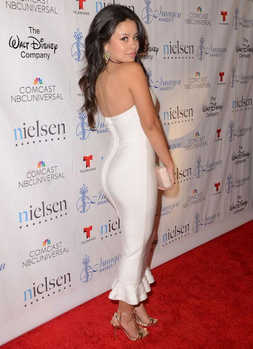 Cierra Ramirez at 30th Annual Imagen Awards in Los Angeles in August 2015