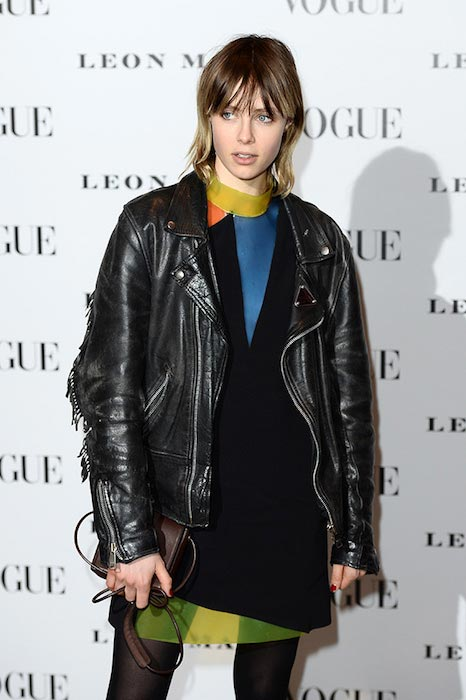 Edie Campbell at the Vogue 100 - A Century Of Style in February 2016