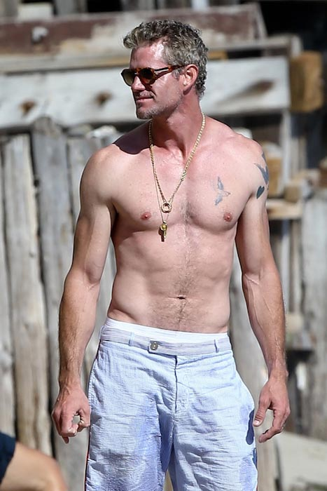 Eric Dane shirtless body