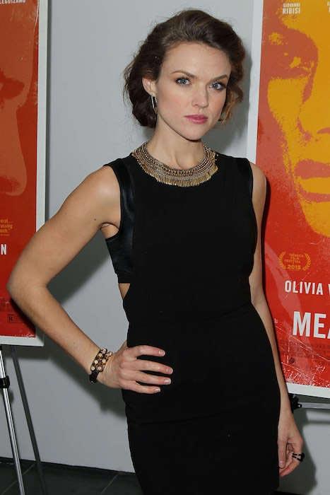 Erin Richards at Meadowland NY screening in November 2015