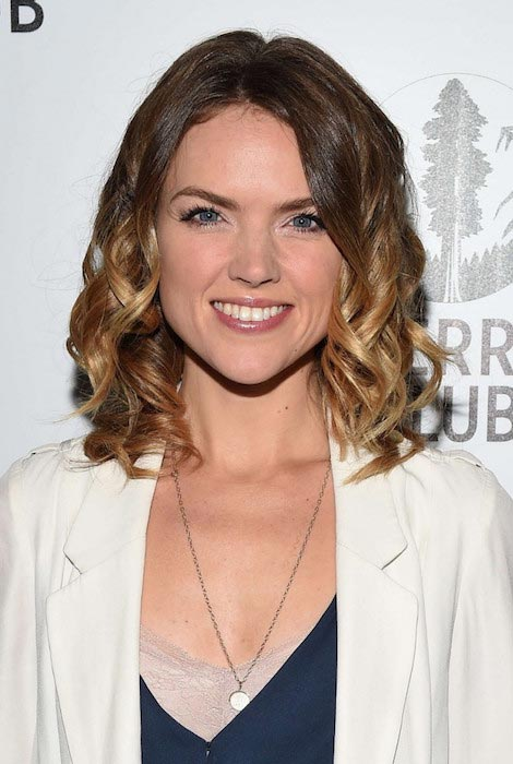 Erin Richards at Sierra Club's Act In Paris A Night Of Comedy And Climate Action in November 2015