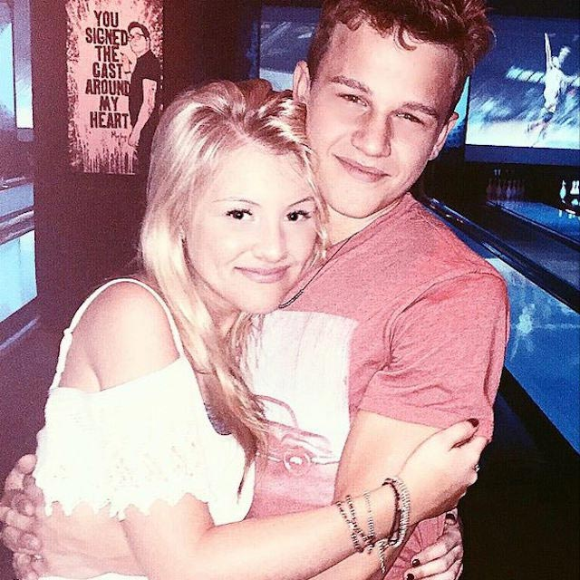 Gavin MacIntosh and Brooke Sorenson