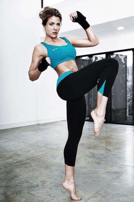 Gemma Atkinson working out