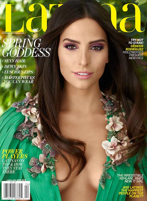 Genesis Rodriguez on Latina Magazine April 2016 Cover