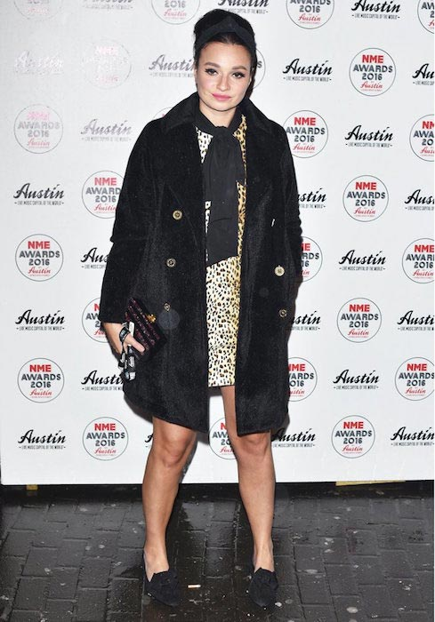 Gizzi Erskine at the NME Awards at O2 Academy, Brixton on February 17, 2016
