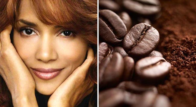 Halle Berry Coffee Break Mud Wrap