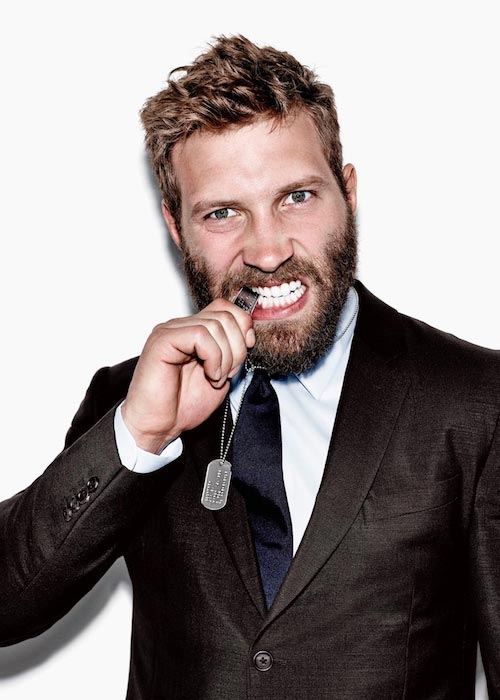 Jai Courtney during an Esquire shoot