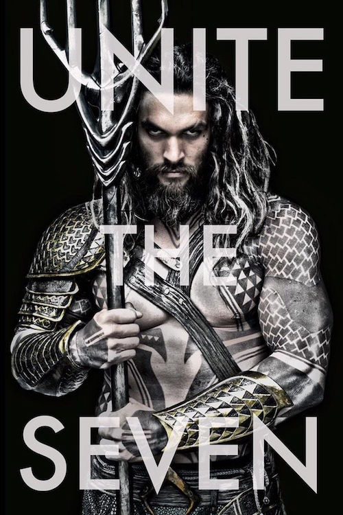 Jason Momoa - First look as Aquaman