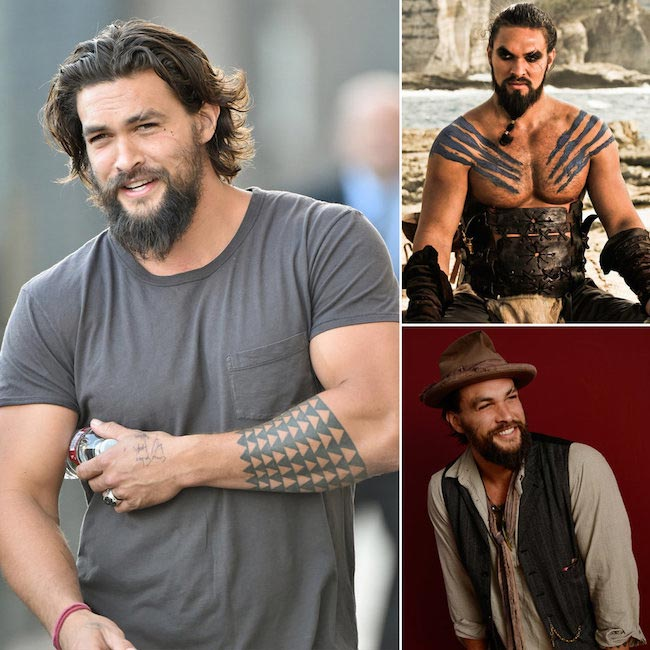 Jason Momoa has big biceps