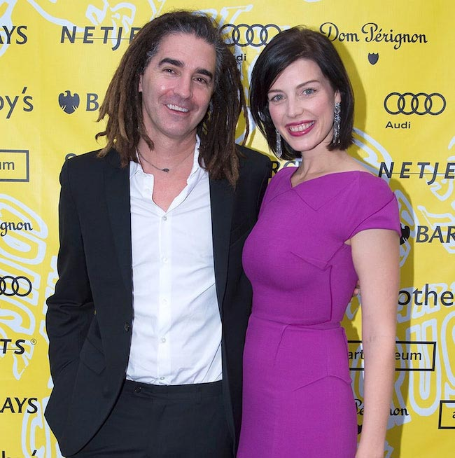 Jessica Pare and John Kastner
