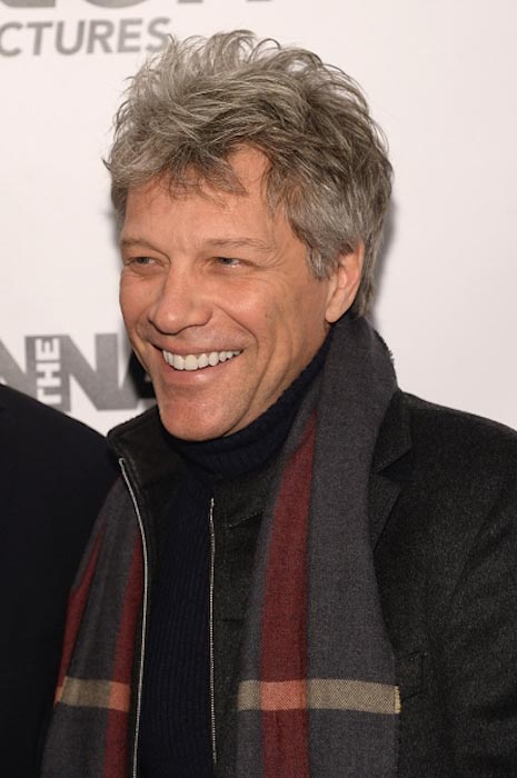 "Jon Bon Jovi at ""The Wannabe"" New York premiere in December 2015"