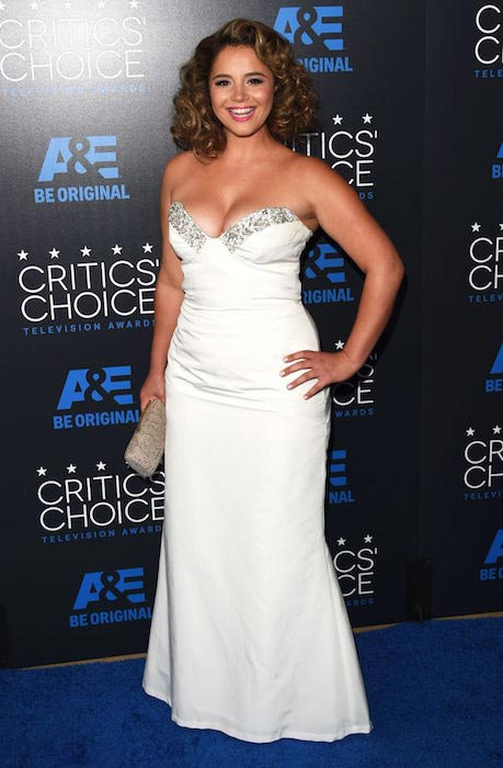 Kether Donohue at 2015 Critics' Choice Television Awards in Beverly Hills